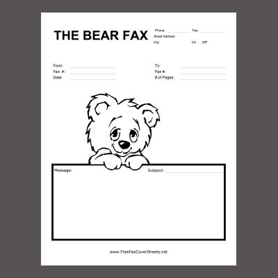 Fax cover letter resume example